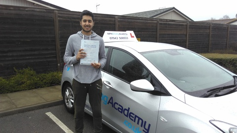 Aleem Hussain - driving lessons Hampton Hargate Peterborough