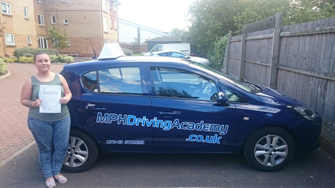 Amy Crawshaw Driving Lessons Stanground Peterborough