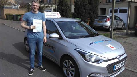 Ethan Debell - driving lessons Hampton Hargate Peterborough