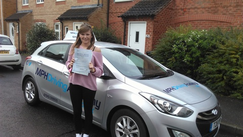 Hollie Baker - driving lessons Peterborough
