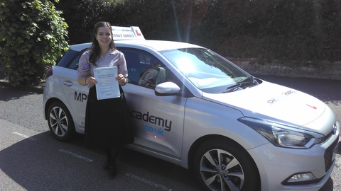 Holly Grinnell - driving lessons Peterborough