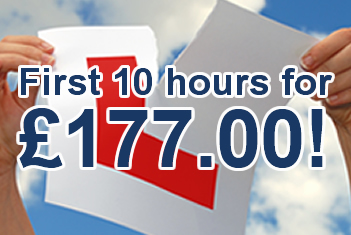 First 10 hours for £177 with MPH Driving Academy