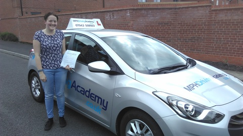 Leah Barfield - driving lessons Hampton Vale Peterborough