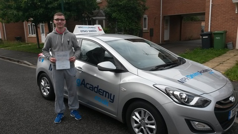 Nathan Long Driving Lessons Hampton Vale Peterborough