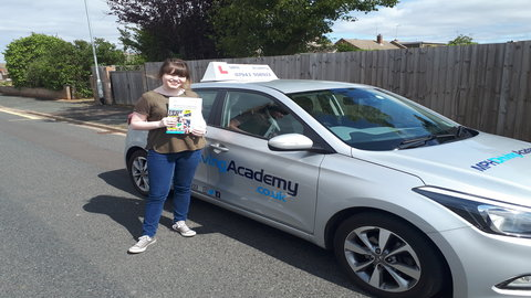 Chloe Chance - driving lessons Gunthorpe Peterborough