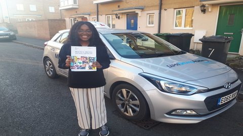 Yvonne - driving lessons Hampton Peterborough